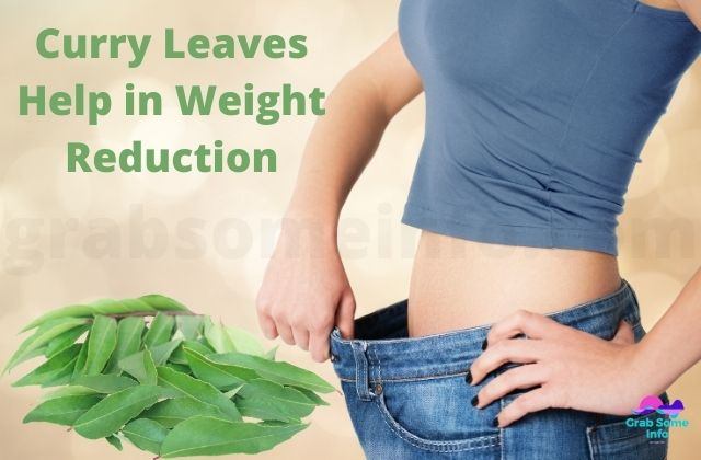 Weight reduction with curry leaves