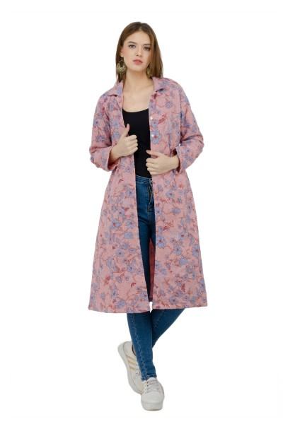 Pink jacket dress