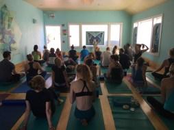 Yoga Lila - a very full class!