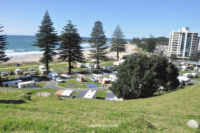 The Camping Ground by beach