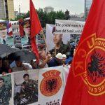 Породице бораца ОВК-а против споменика Кнезу Лазару