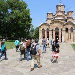 Група тајванских туриста посетила Грачаницу