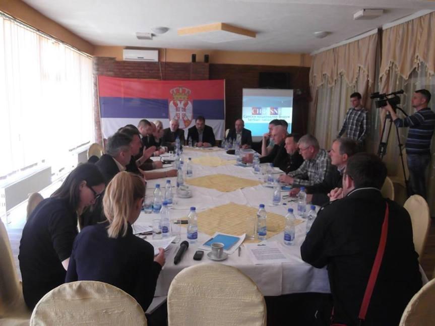 СНФ: Подржавамо већински став српског народа, став СПЦ и владике Теодосија