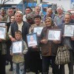 Протест породица киднапованих и несталих Срба