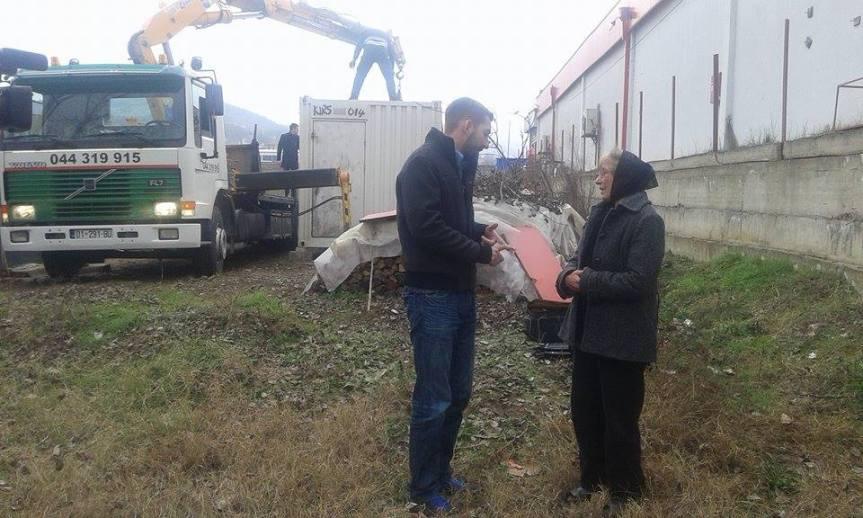 Иван Томић обезбедио привремени смештај Снежани Младеновић