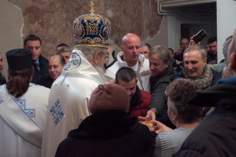 Обележена слава у цркви Светог Николе у Приштини
