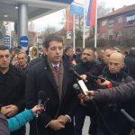 Марко Ђурић у Митровици и поред забране из Приштине