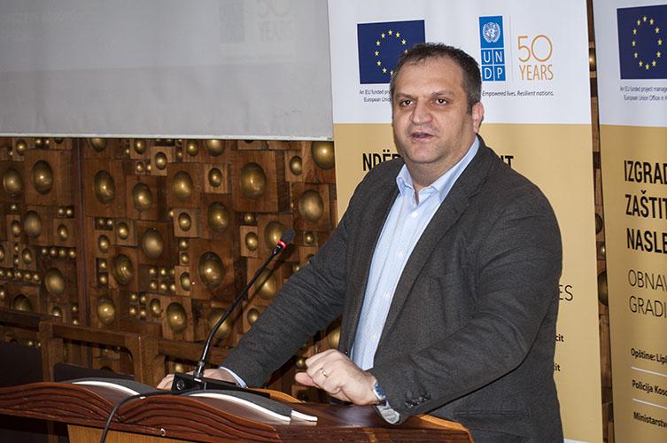 Špend Ahmeti: Svi građani Kosova bi trebalo da se bore za očuvanje kulturnog nasleđa