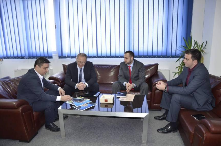 Стојановић и Костић са амбасадором Мађарске на Косову
