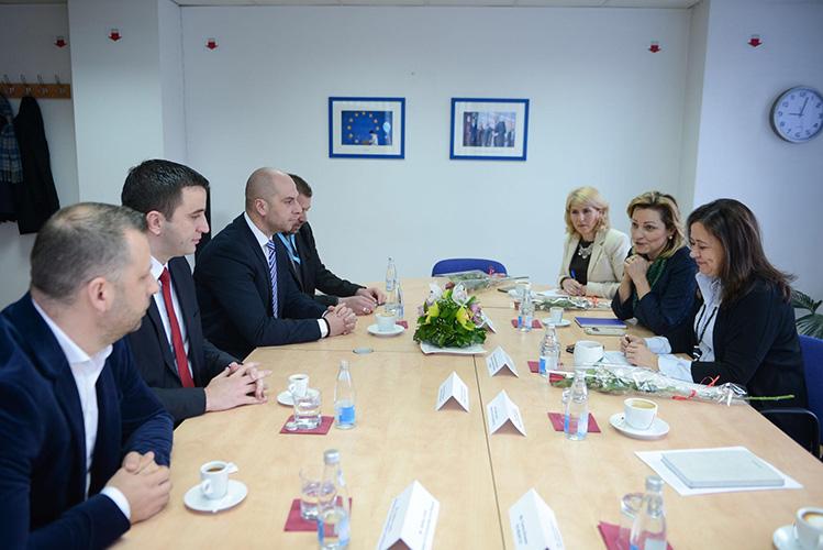 Ruiz Kalavera u Prištini, sa predstavnicima Srpske liste