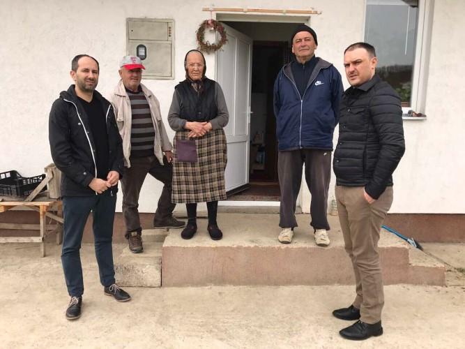 Živku Bogićević iz Drenovca posetili predstavnici Ministarstva za zajednice i povratak