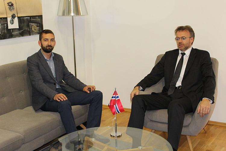 Сарадња КПЗ и норвешке амбасаде још јача у будућности