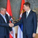 Ђурић са аустријским амбасадором о политичкој ситуацији на Косову