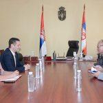 Љубомир Марић и Јан Брату разговарали у Митровици