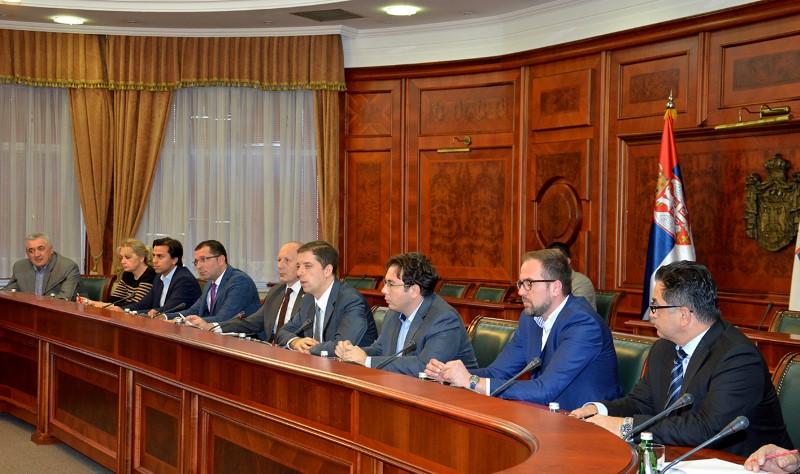 Започела са радом Радна група за пружање подршке вођењу унутрашњег дијалога о Косову и Метохији