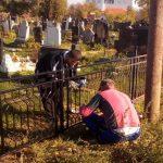 Rekonstrukcija ograde grobalja u Ugljaru i Gračanici