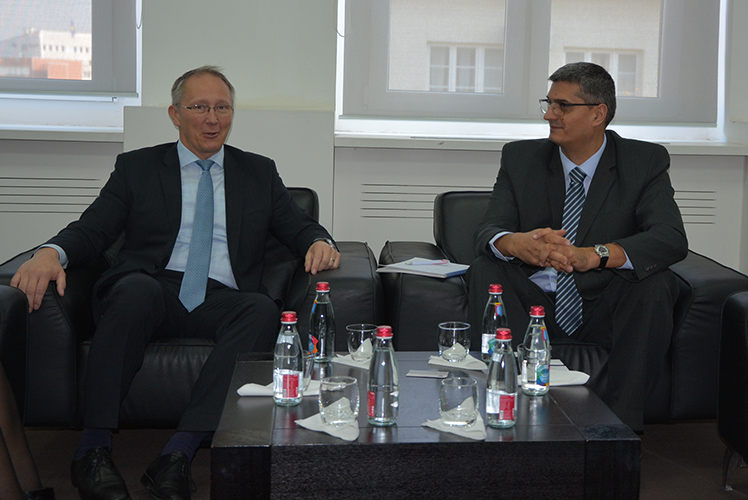 Министар Рикало се састао амбасадором Мађарске Ласлом Маркузом