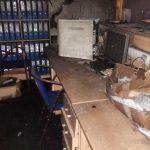 Грачаница: Пожар у Заводу за здравствено и социјално осигурање