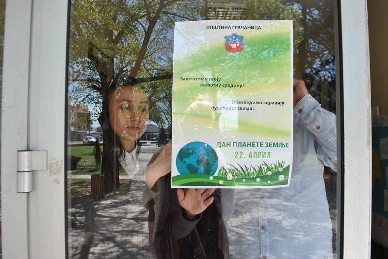 Плакатима и флајерима подсећамо се на Дан планете Земље
