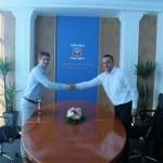 Arno Gujon razgovarao sa gradonačelnikom Gračanice