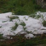 Јак град опустошио поља и баште у Ливађу и Доњој Гуштерици