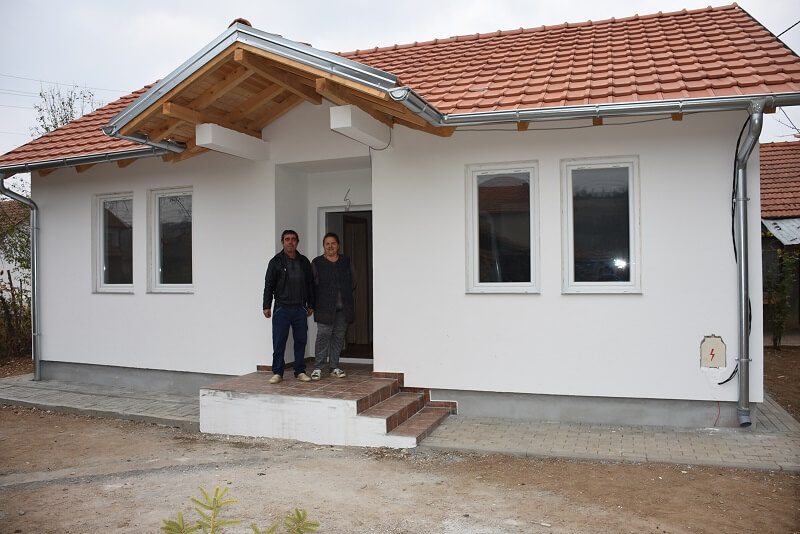Porodica Jovanović iz Gornje Gušterice dobila krov nad glavom