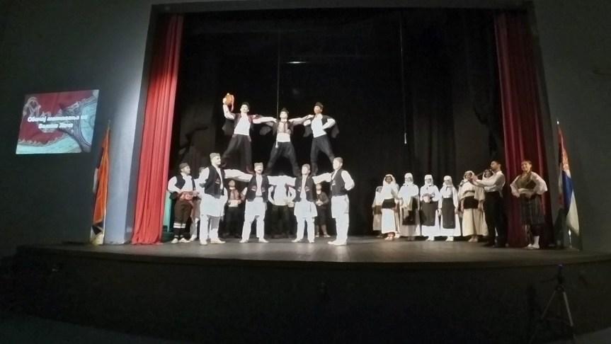 "Мајска турнеја ансамбла ""Венац"""