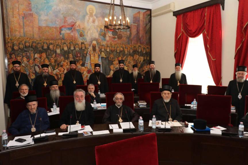 Sveti Arhijerejski Sabor: Ne sme da se dovede pod znak pitanja puni suverenitet i integritet Srbije na Kosovu i Metohiji