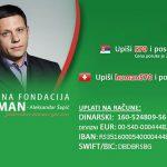 СМС за помоћ новинару Пеђи Обрадовићу