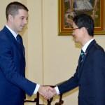 Ђурић и амбасадор Кореје: Београд за дијалог, али дијалога нема док је на снази противправна и антицивилизацијска трговинска блокада Приштине