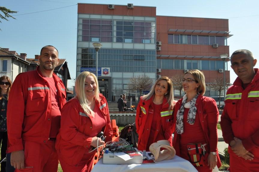 Први април дан службе Хитне помоћи из Лапљег Села