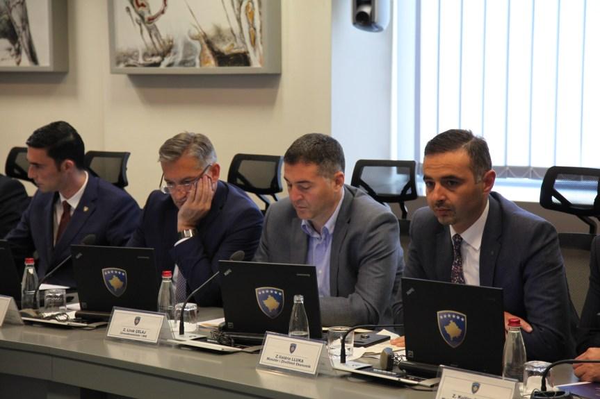 Љирак Ћељај о систематизиацији унутар министарства за епвропске интеграције и трилатералном финансијском споразуму ЕУ, Косова и Албаније