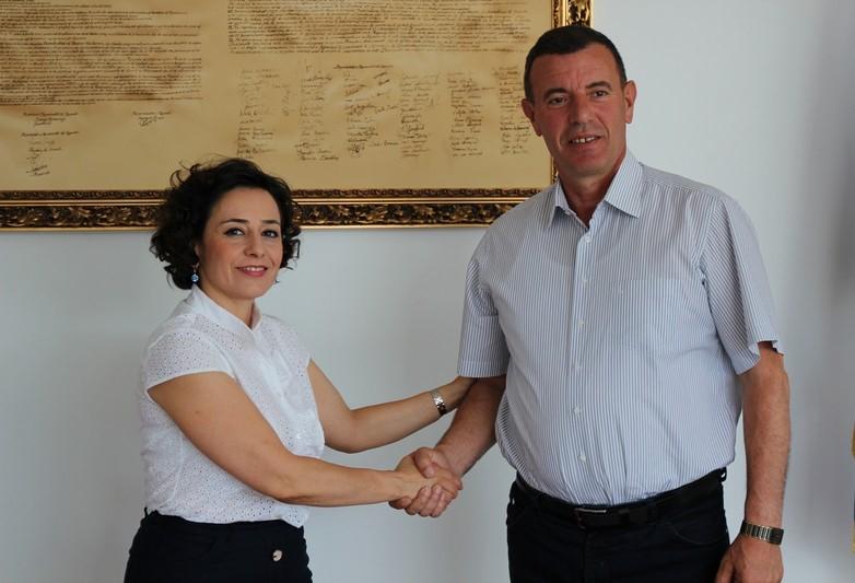 Адријана Хоџић обишла Општину Обилић