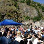 Сабор Светог архангела Гаврила окупио велики број верника у задужбини Цара Душана