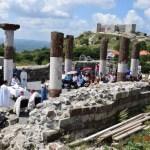 Novo Brdo: Rimokatolička misa služena na temeljima pravoslavne crkve Svetog Nikole