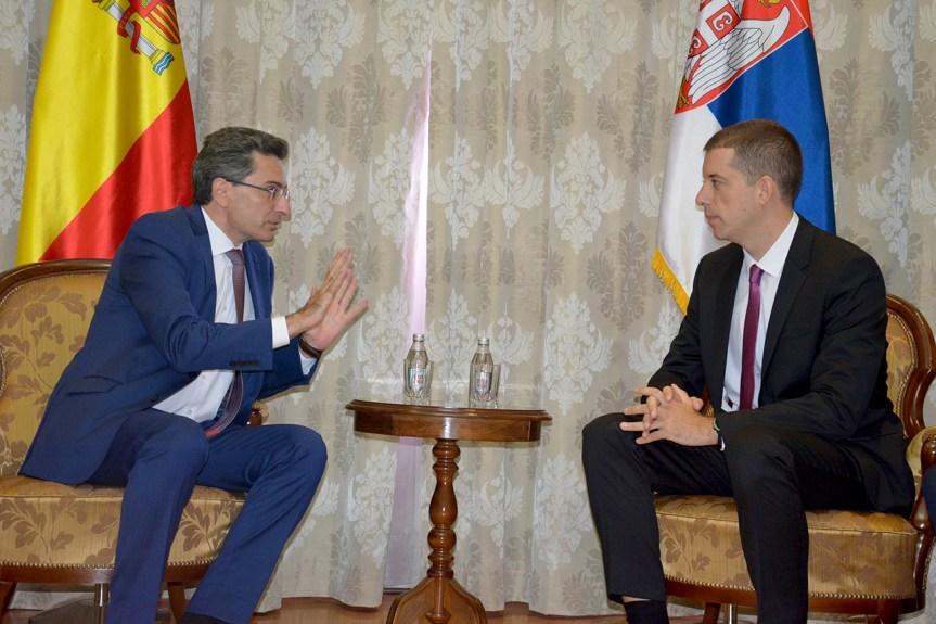 Đurić zahvalio Španiji zbog principijelnog stava o Kosovu