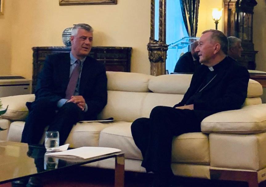 Tači u Njujorku zatražio priznanje Kosova od Vatikana