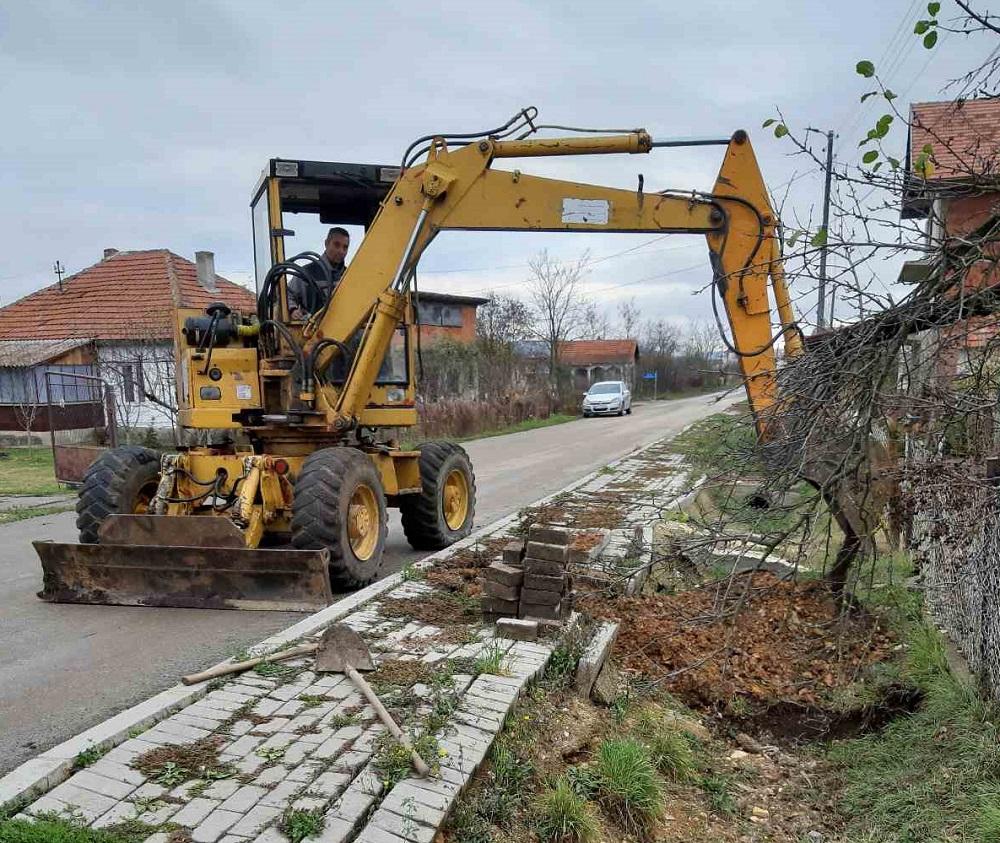 Настављена изградња водовода у Лепини, Скуланеву, Радеву и Сувом Долу