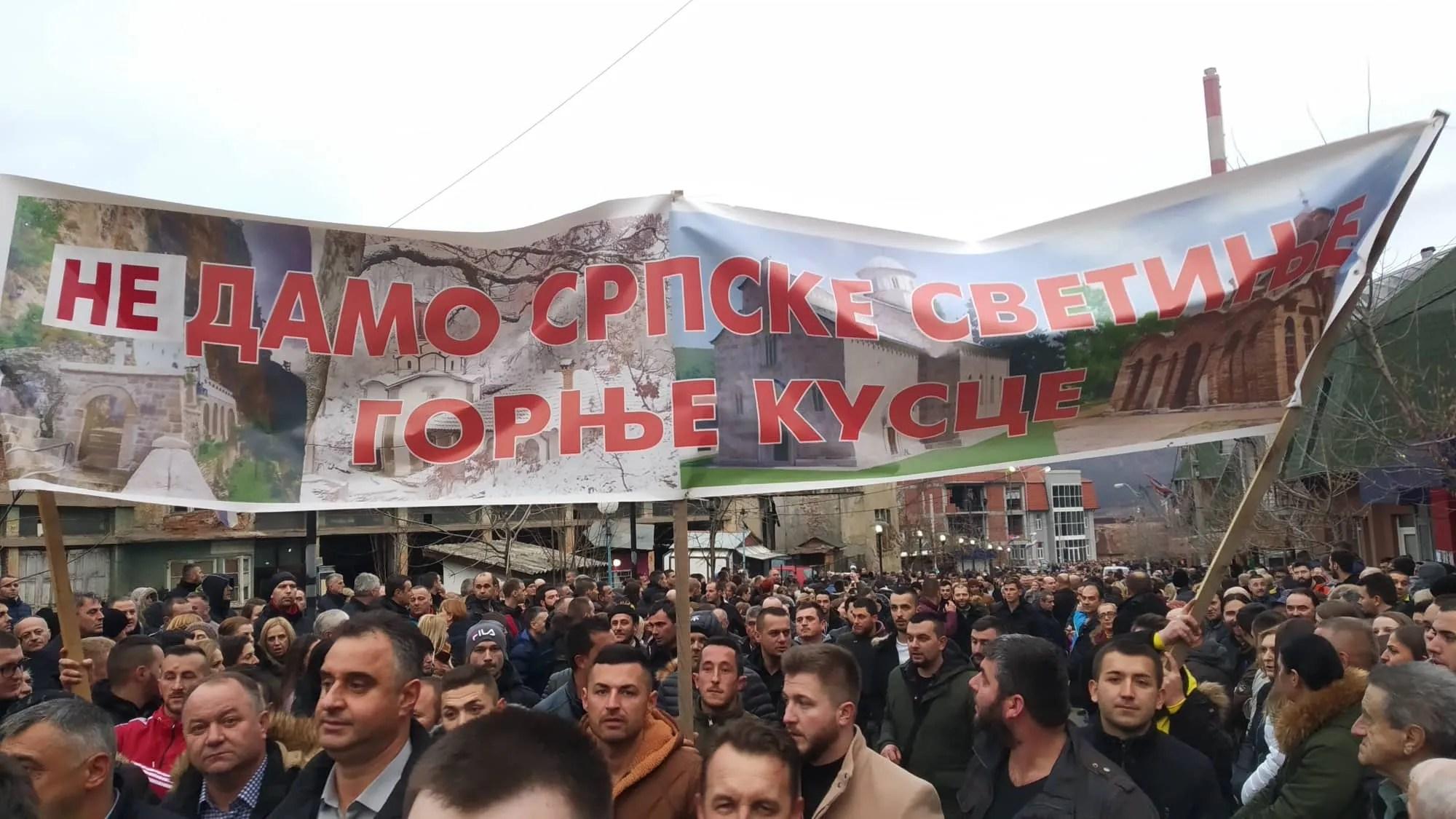 Treća litija Eparhije-raško prizrenske u znak podrške SPC u Crnoj Gori