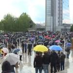 Протести присталица Самоопредељења протекли мирно