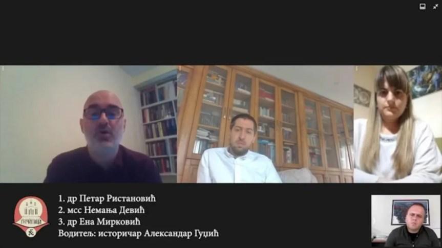 """Промоција књиге """"Косовско питање 1974-1989"""", др Петра Ристановића – Како је дошло до радикализације?"""