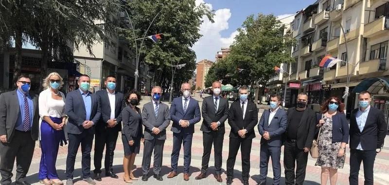Ракић са амбасадорима у посети северним општинама