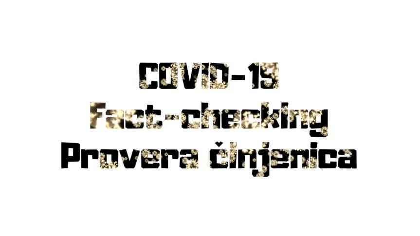 Fact-checking – Не/Поштовање људских права на Косову за време пандемије корона вируса
