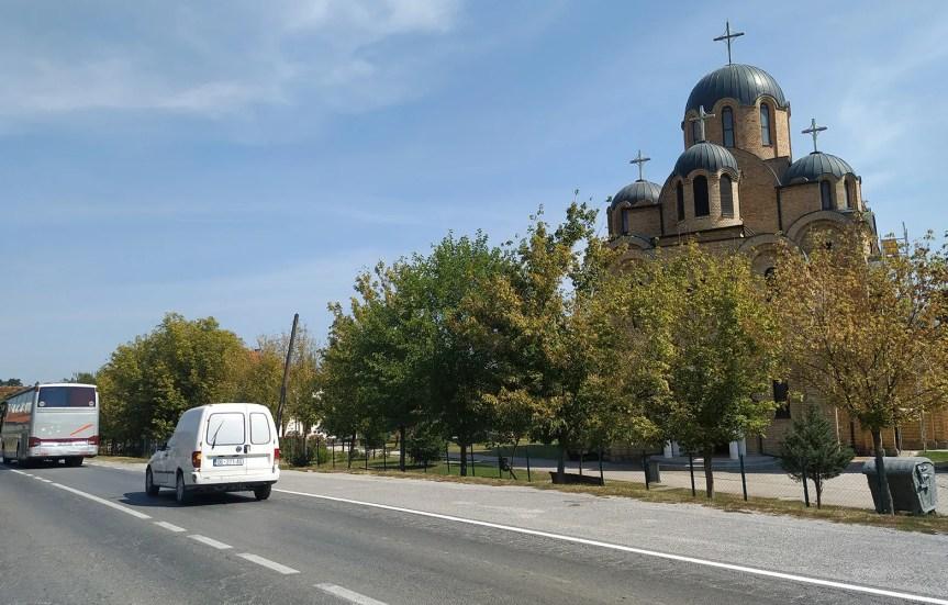И у Партешу обијена црква