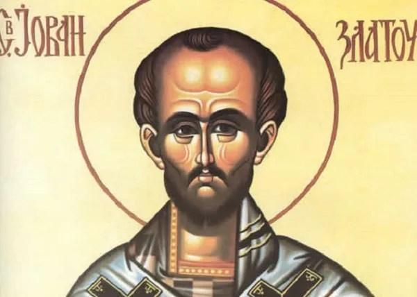 Данас је Свети Јован Златоусти