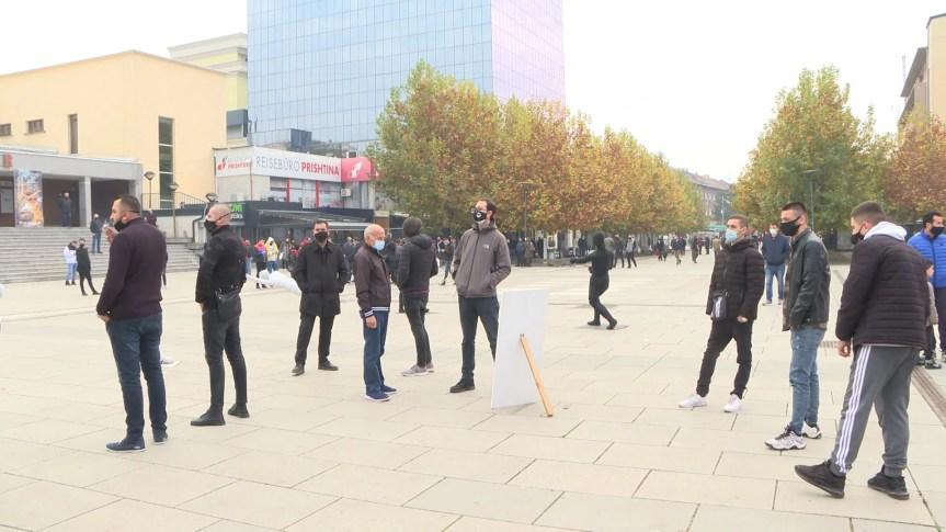 Неуспели протести у Приштини