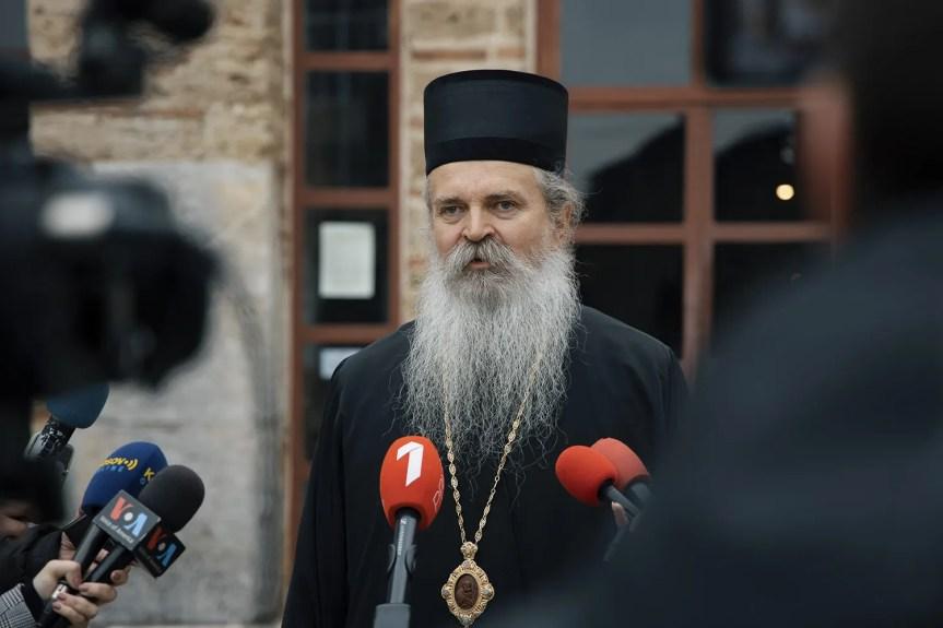 Владика Теодосије: Сведоци смо организоване кампање којом се додатно угрожавају светиње на КиМ