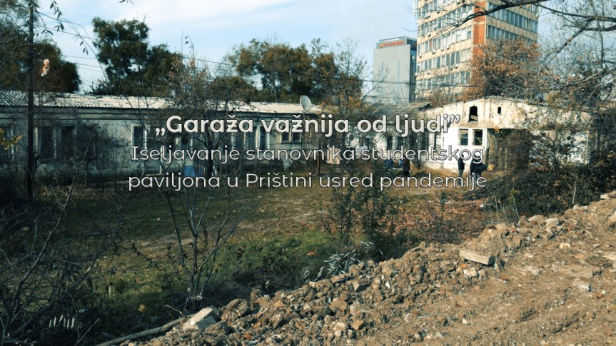 """Исељавање становника студентског павиљона у Приштини усред пандемије – """"Гаража важнија од људи"""""""