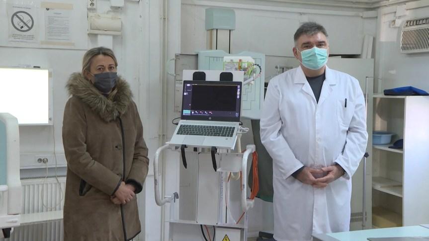 Уручен рендген апарат КБЦ-у Приштина у Грачаници