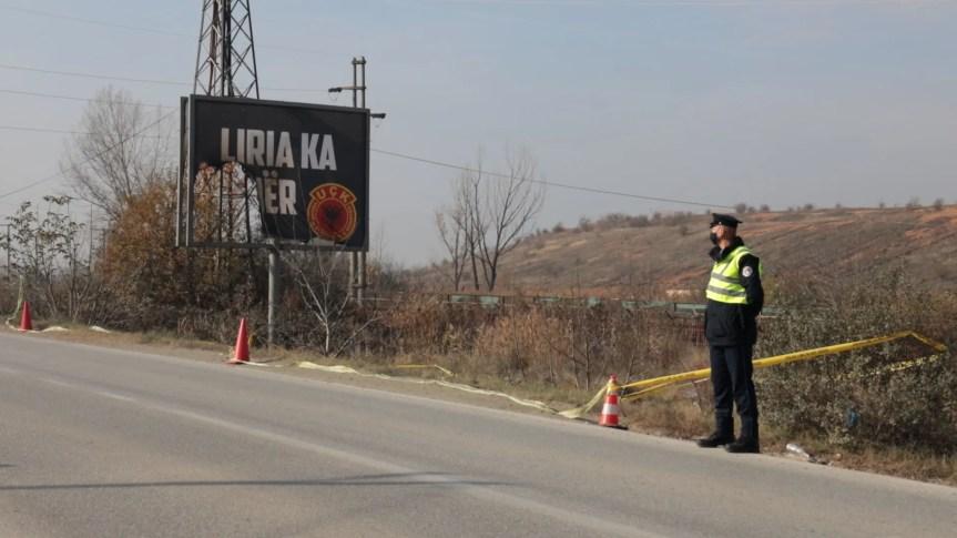 Оштећен билборд на прилазу Грачаници